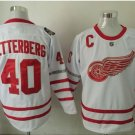 017 Centennial Classic Hockey Jerseys Detroit Red Wings 40 Henrik Zetterberg White