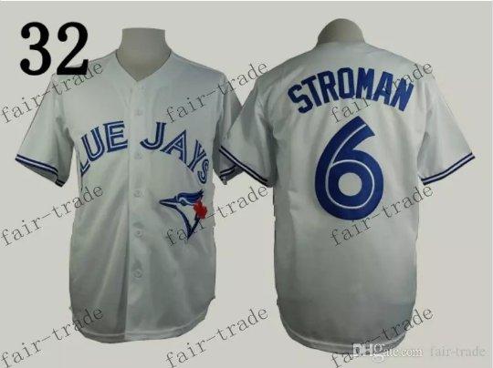 Toronto Blue Jays #6 Marcus Stroman 2015 Baseball Jersey Gray Jerseys Authentic Stitched