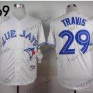 Toronto Blue Jays  #29 devon travis 2015 Baseball Jersey White Jerseys Authentic Stitched