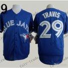 Toronto Blue Jays  #29 devon travis 2015 Baseball Jersey Blue Jerseys Authentic Stitched