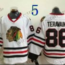 #86 Teuvo Teravainen Throwback Vintage Jersey White ICE Hockey Jerseys Heritage Stitched