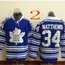 toronto maple leafs #34 Auston Matthews 2016 Hockey Jerseys Ice Winter Jersey All Stitched