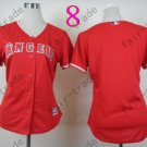 Los Angeles Angels Women Jersey Red