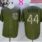 Anthony Rizzo Jersey Chicago Cubs 44# Baseball Jersey, Stitched High Quality Beige