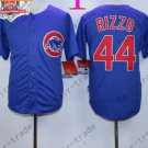 Anthony Rizzo Jersey Chicago Cubs 44# Baseball Jersey, Stitched High Quality Blue Style 1