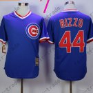 Anthony Rizzo Jersey Chicago Cubs 44# Baseball Jersey, Stitched High Quality Blue Style 3