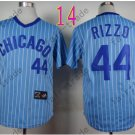 Anthony Rizzo Jersey Chicago Cubs 44# Baseball Jersey, Stitched High Quality Blue Style 4