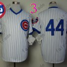 Anthony Rizzo Jersey Chicago Cubs 44# Baseball Jersey, Stitched High Quality White Style 4