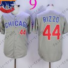 Anthony Rizzo Jersey Chicago Cubs 44# Baseball Jersey, Stitched High Quality Gray Style 3