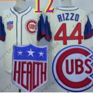 Anthony Rizzo Jersey Chicago Cubs 44# Baseball Jersey, Stitched High Quality White Style 5