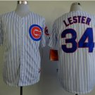 without 2016 World Series Patch Chicago Cubs Baseball Jerseys 34 Jon Lester Flexbase Cool Base White