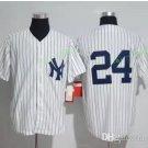 New York Yankees #24 Gary Sanchez White Flexbase Stitched Jersey Style 2