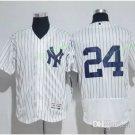 New York Yankees #24 Gary Sanchez White Flexbase Stitched Jersey Style 4