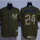 New York Yankees #24 Gary Sanchez Beige Flexbase Stitched Jersey