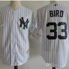 New York Yankees #33 Greg Bird White Flexbase Stitched Jersey Style 1