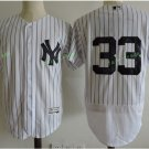 New York Yankees #33 Greg Bird White Flexbase Stitched Jersey Style 2