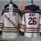 new york rangers #26 Jimmy Vesey hoodie Hockey Hooded Stitched Old Time Hoodies Sweatshirt Jerseys
