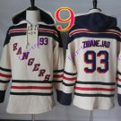 new york rangers 93 Mika Zibanejad hoodie Hockey Hooded Stitched Old Time Sweatshirt Jerseys