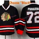 2016 Stadium Series Chicago Blackhawks Jerseys Black #72 Artemi Panarin Blackhawks Jersey Stitched