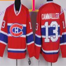 Stitched Montreal #13 Michael Cammalleri Red winter classic Ice Hockey Jersey