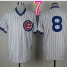#8 Andre Dawson Jersey Vintage White Montreal Expos Chicago Cubs Jerseys Style 4