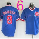 #8 Andre Dawson Jersey Vintage Blue Montreal Expos Chicago Cubs Jerseys Style 2