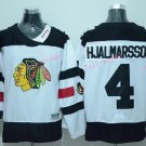 2016 Jersey Stadium Series Chicago Blackhawks #4 Niklas Hjalmarsson Jerseys White Style 1