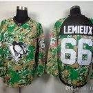 #66 mario lemieux Throwback Vintage Jersey ICE Hockey Jerseys Heritage Stitched
