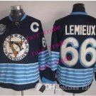 #66 mario lemieux Throwback Vintage Jersey Black ICE Hockey Jerseys Heritage Stitched Style 2