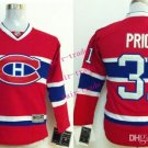 Canadiens #31 Carey Price Red Youth Ice Hockey Jerseys Kids Boys Stitched Jersey Size S/M L/XL