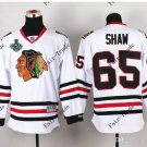 New #65 andrew shaw Blackhawks white Ice Hockey Jerseys 2015 Final Stanley Cup Patch Accept