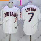 7 KENNY LOFTON White Indians Jersey 1978 Vintage