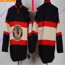 Stitched NHL Chicago Blackhawks  Black Hockey Jerseys Ice