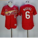 st. louis cardinals #6 stan musial Red 2017 Baseball Jerseys