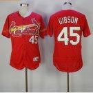 st. louis cardinals #45 bob gibson Red 2017 Baseball Jerseys