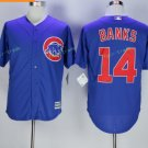 Chicago Cubs #14 Ernie Banks Away Baseball Jersey Blue Throwback Base Stitched Jerseys Style 3