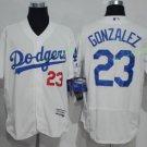 2017 Flexbase Stitched Los Angeles Dodgers 23 Adrian Gonzalez White Baseball Jerseys Home Away S2