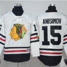 2017 Winter Classic Jerseys Chicago Blackhawks Hockey  Niklas #15 Artem Anisimov