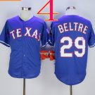 Texas Rangers #29 Adrian Beltre 2015 Baseball Jersey Blue Rugby Jerseys Authentic Stitched