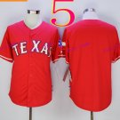 Texas Rangers 2015 Baseball Jersey Red Rugby Jerseys Authentic Stitched