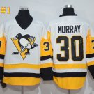 Pittsburgh Penguins #30 Murray White 2016 Hockey Jerseys Ice Winter Jersey All Stitched
