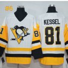 Pittsburgh Penguins #81 Phil Kessel White 2016 Hockey Jerseys Ice Winter Jersey All Stitched