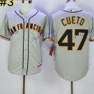 San Francisco Giants 47 Johnny Cueto Jersey Vintage Baseball Jerseys Cooperstown Gray