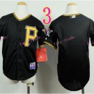 Pittsburgh Pirates Youth Jersey  Black  Kid Jersey