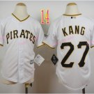 Pittsburgh Pirates Youth Jersey #27 Jung-ho Kang White Kid Jersey