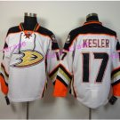 Anaheim Ducks Hockey Jersey White 2017 Alternate Orange 17 Ryan Kesler Stitched Jersey