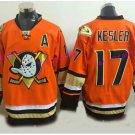 Anaheim Ducks Hockey Jersey Orange 2017 Alternate Orange 17 Ryan Kesler Stitched Jersey