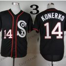 Chicago White Sox #14 Paul Konerko 2015 Baseball Jersey Rugby Jerseys Authentic Stitched