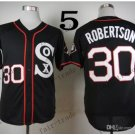 Chicago White Sox #30 David Robertson 2015 Baseball Jersey Rugby Jerseys Authentic Stitched