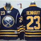 Buffalo Sabres #23 Sam Reinhart Throwback Vintage Jersey Black ICE Hockey Jerseys Heritage Stitched